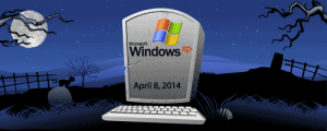 picture of windows xp tombstone.
